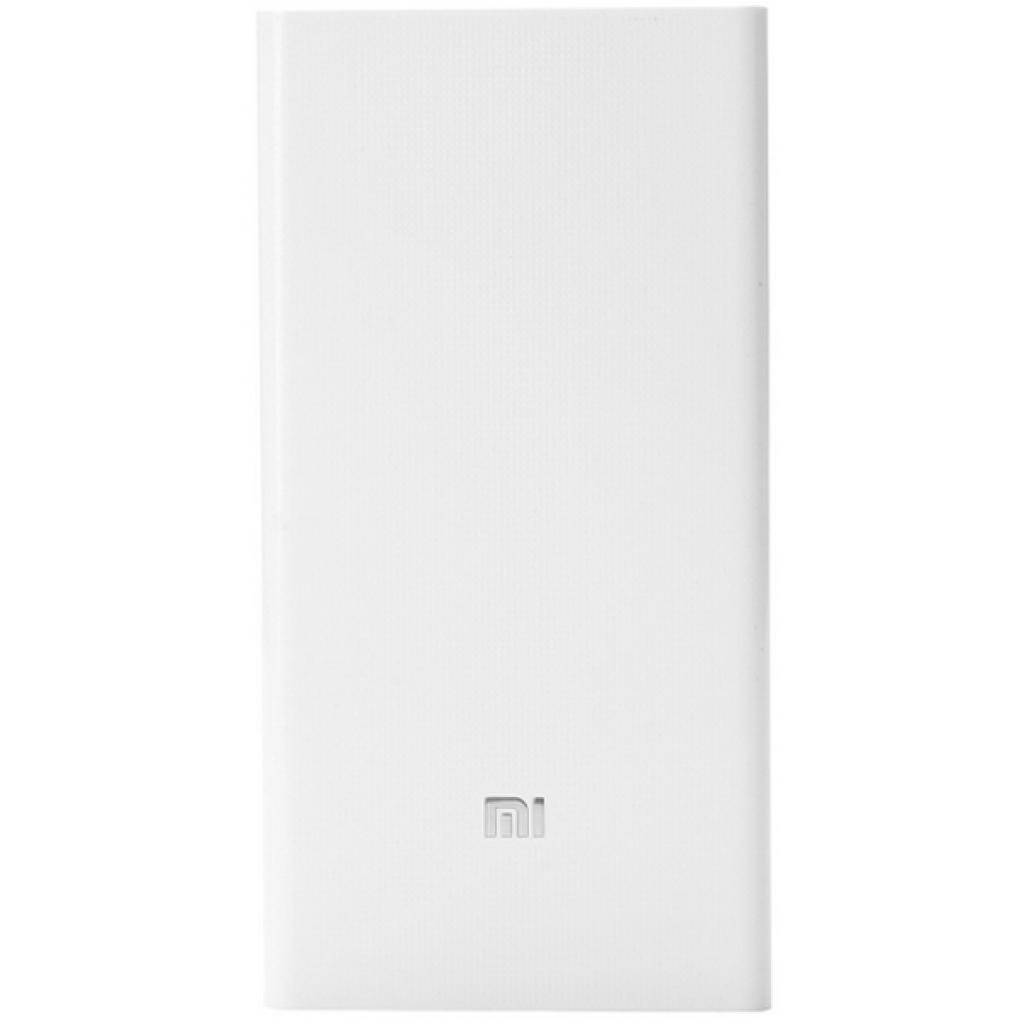 Батарея универсальная Xiaomi Mi Power bank 20000 mAh White (6954176810069)