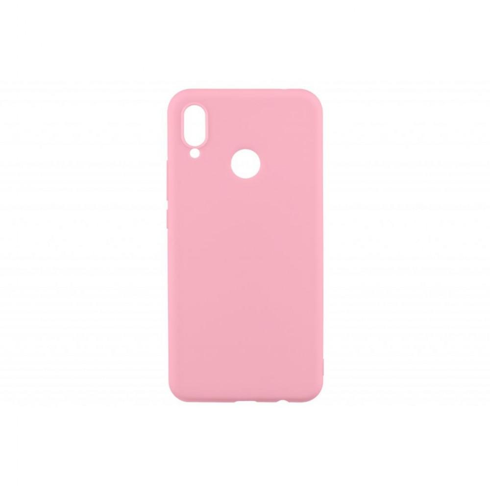 150e49492a59b совместимость с моделями - Honor 8X, Тип чехла для телефона - накладка,  материал - термополиуретан, Цвет - розовый